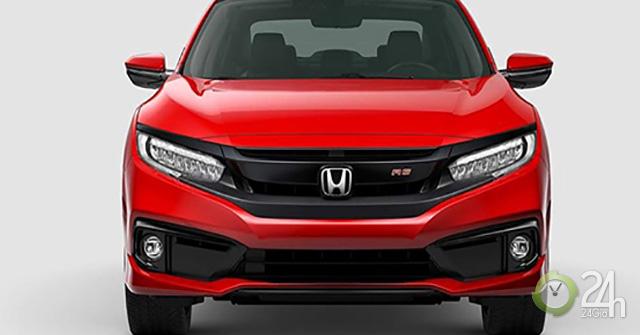 Bảng giá xe Honda Civic 2019 lăn bánh - Civic RS nổi bật với mức giá bán hấp dẫn