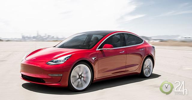 Tesla Model 3, đối thủ gây khó chịu của các ông lớn Mercedes, Audi và BMW trong phân khúc xe điện