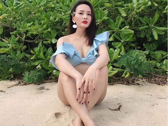 """Sao truyền hình mặc áo tắm: """"Quỳnh búp bê"""" hay Bảo Thanh là nữ hoàng bikini?"""