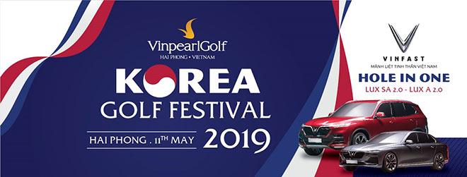 Golf thủ Hàn Quốc hào hứng tới tranh tài tại Vinpearl Golf – Korea Golf Festival 2019 - 1