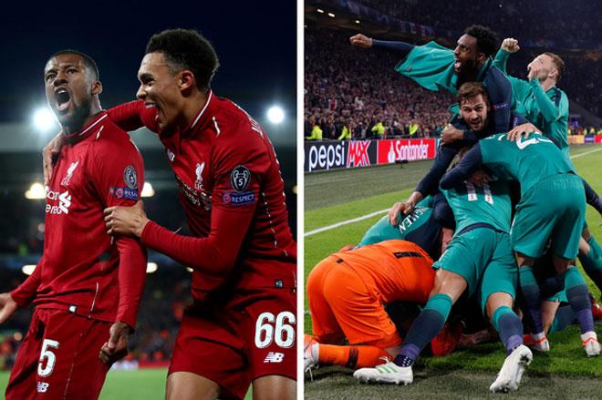 Liverpool, Tottenham ngược dòng vĩ đại: Salah - Kane có đá chung kết C1? - 1