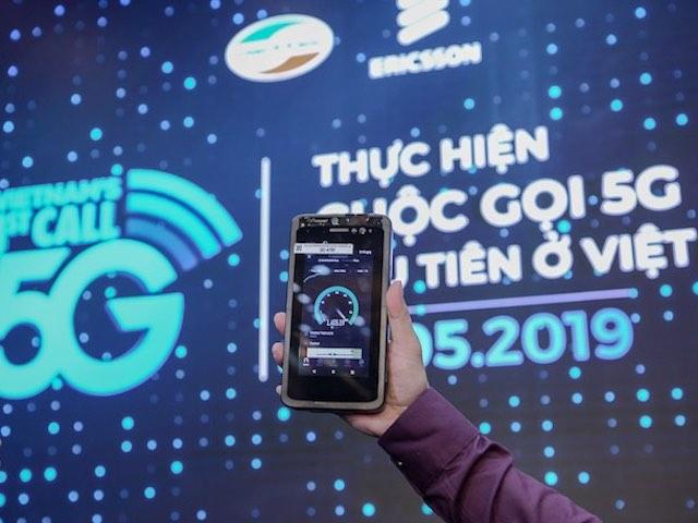 """Viettel phát triển mạng 5G quá """"thần tốc"""", đã thực hiện cuộc gọi 5G đầu tiên"""