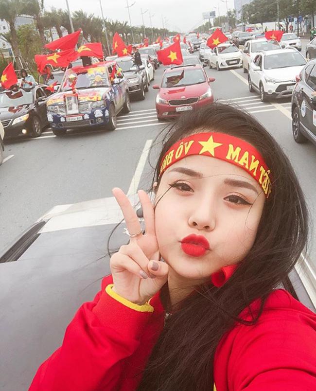 """Cô còn được biết đến qua chuyện tình yêu với thủ môn số 1 Việt Nam - Đặng Văn Lâm. Tuy nhiên, hiện tại cặp đôi đã """"đường ai nấy đi""""."""