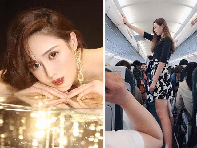 """Hot girl Trung Quốc biến mọi chàng trai đứng cạnh thành tí hon nhờ chiều cao cực """"khủng"""""""