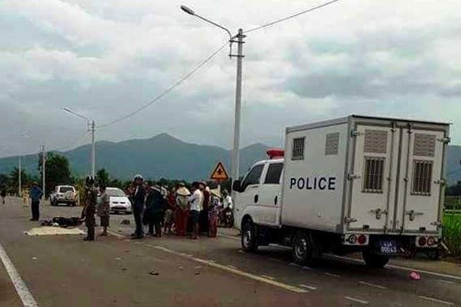 Giám đốc Công an Bình Định chỉ đạo xử nghiêm vụ xe biển xanh tông chết 2 mẹ con - 1