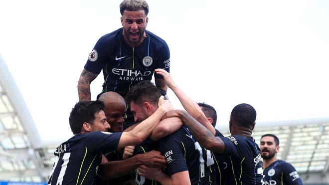 Ngoại hạng Anh hạ màn: Man City vô địch mãn nhãn, MU thua thảm - 1