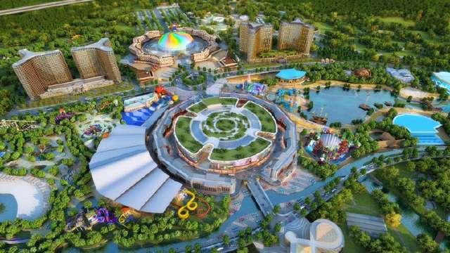 """Lác mắt trước khách sạn """"dân chơi"""" nhất thế giới sắp khánh thành tại Trung Quốc - 1"""