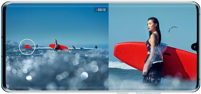 """Tính năng dual-view """"cập bến"""" Huawei P30/P30 Pro: Quay phim 2 khung hình độc đáo - 1"""