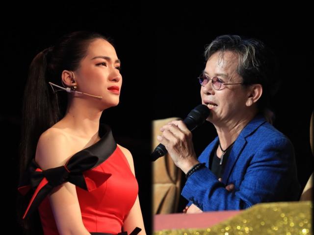 Giải trí - Hòa Minzy khóc nức nở khi bị nhạc sĩ Đức Huy chê cách chọn bài cho thí sinh