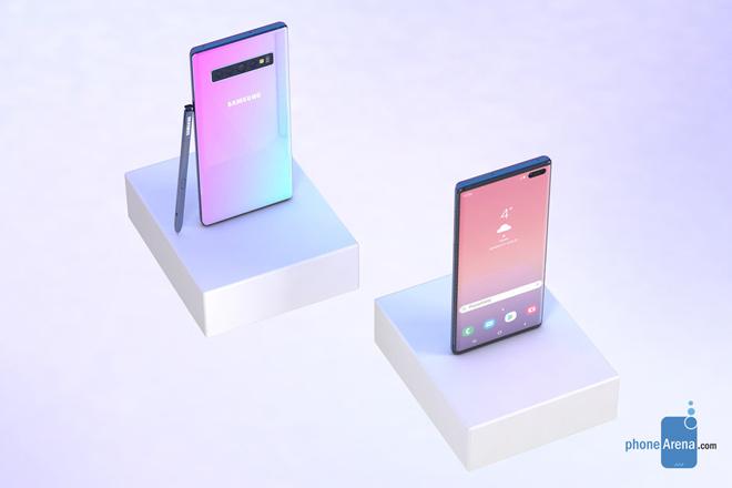 HOT: Galaxy Note 10 sẽ có 5 tùy chọn màu, iPhone Xs Max phải ghen tỵ - 1
