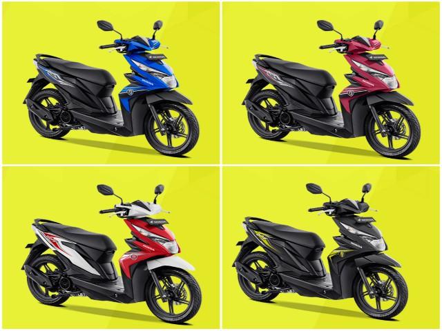 Xe ga 2019 Honda Beat ra loạt màu mới, giá rẻ từ 25 triệu đồng