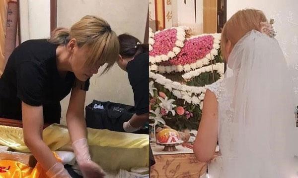Lý do cô dâu tổ chức lễ cưới cùng lúc với đám tang người thân - 1