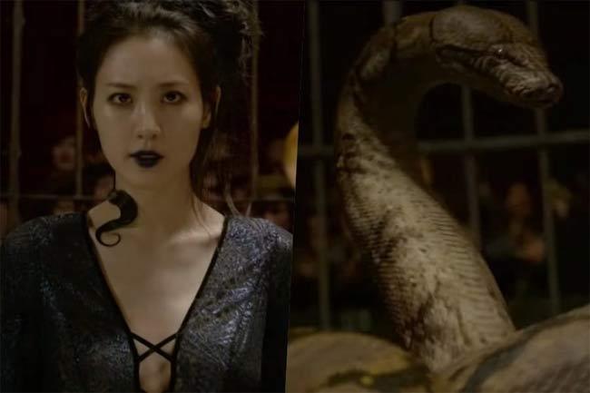 """Claudia Kim đóng """"trường sinh linh giá"""" trong Fantastic Beasts."""