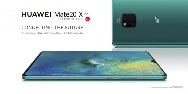 Trình làng Huawei Mate 20 X 5G, Galaxy S10 5G phải giật mình - 1