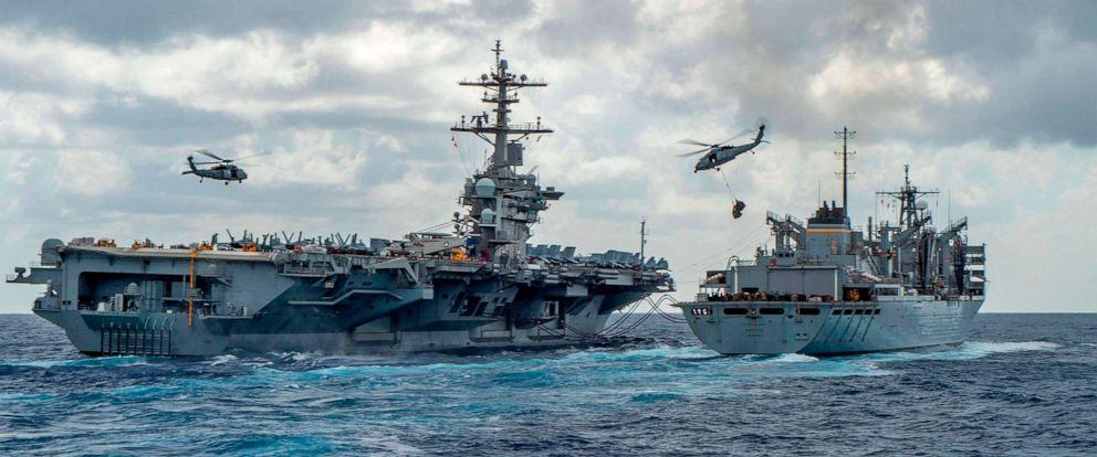7 tàu chiến Mỹ bủa vây Iran - 1