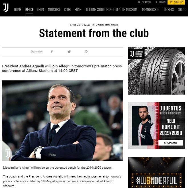 """Juventus chính thức thay """"tướng"""": Vì Ronaldo & tham vọng xưng vương châu Âu - 1"""