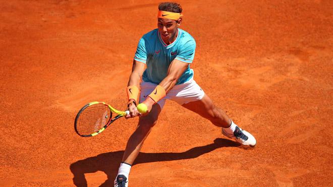 Nadal - Basilashvili: Cuồng phong đáng sợ, nương tay chỉ 1 lần - 1