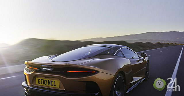 McLaren GT 2020 hoàn toàn mới, động cơ mạnh mẽ với công suất hơn 600 mã lực