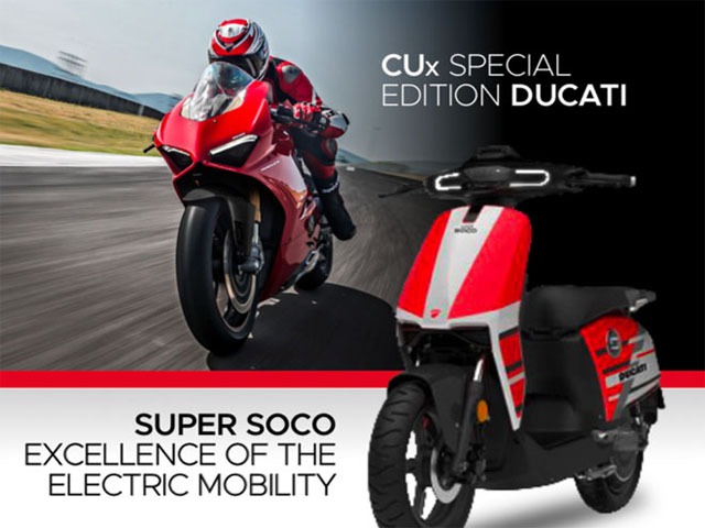 Không phải mô tô hầm hố, chiếc xe điện đầu tiên của Ducati mới hết sức... dễ thương