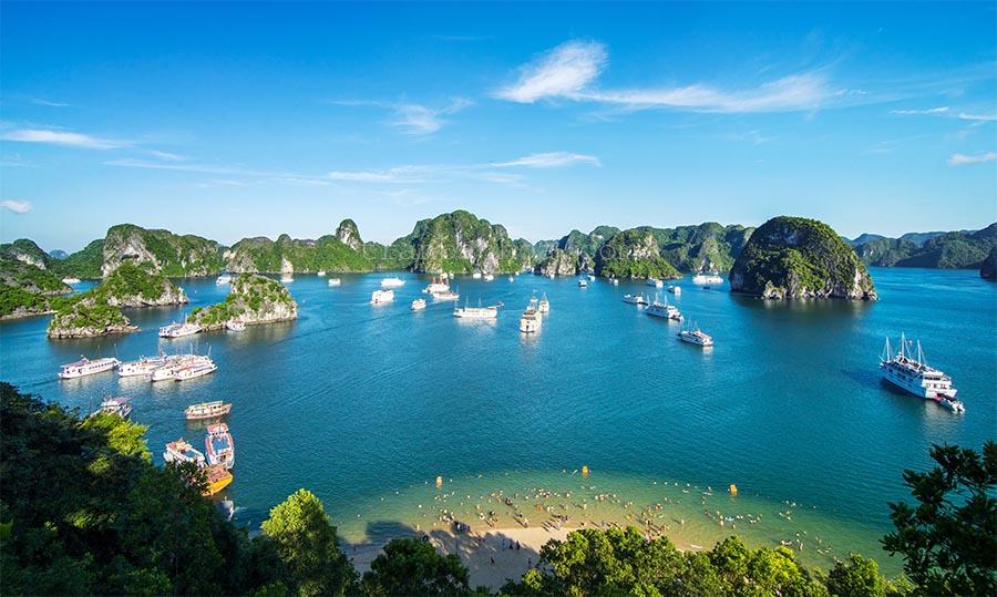 Muốn du ngoạn bằng thuyền, hãy đến nơi này ở Việt Nam - 1
