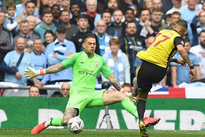 """Rực lửa Man City vô địch FA Cup: Hoàn tất """"cú ăn 3"""", MU phải nể - 1"""