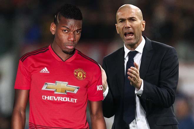 """Real căng thẳng: Vì Pogba, Zidane mâu thuẫn """"ông trùm"""" Perez bỏ sang PSG? - 1"""