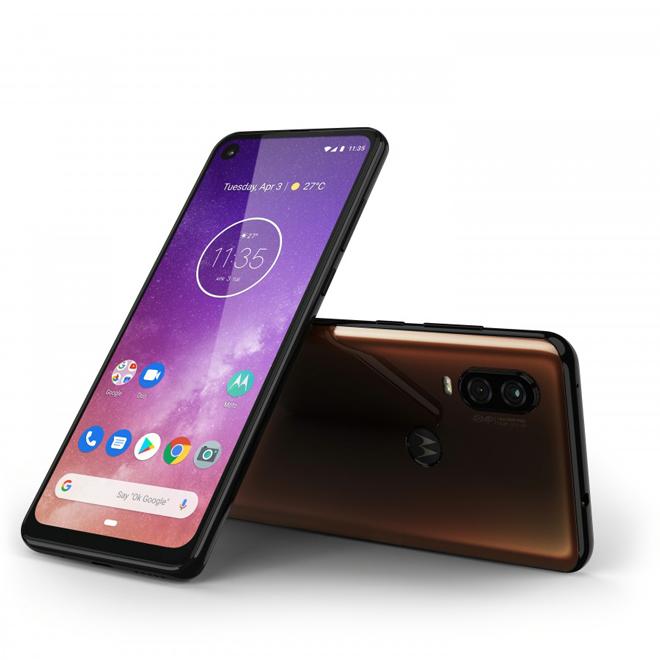Ra mắt Motorola One Vision, bản sao của Galaxy S10 - 1