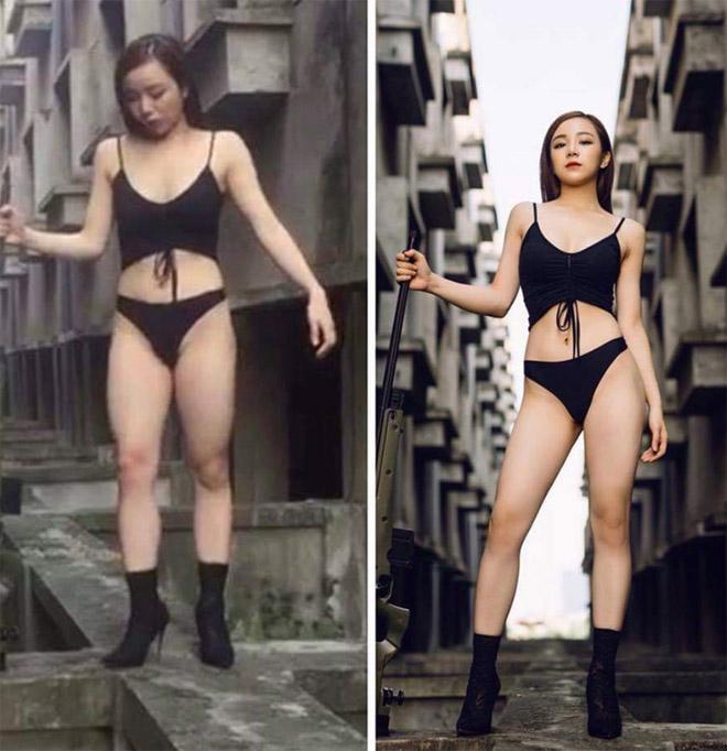Nhan sắc đời thực gây thất vọng của loạt hot gymer, người đẹp Việt - 1