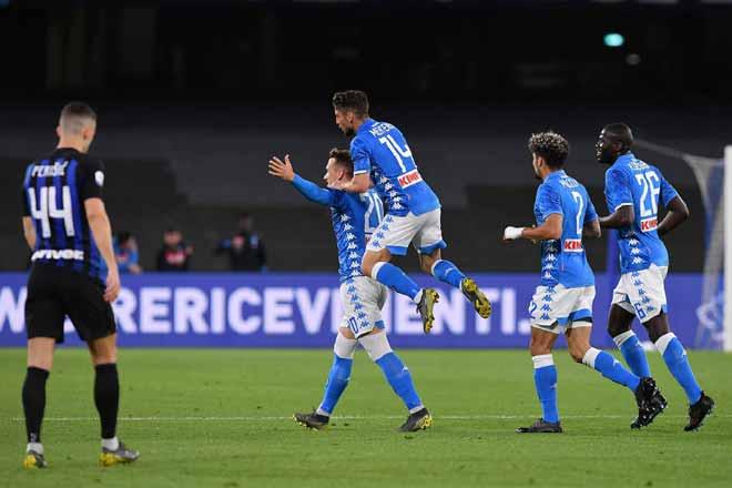 Napoli – Inter Milan: Tấn công vũ bão, hiệp 2 bùng nổ - 1