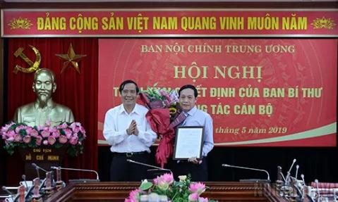 Ban Bí thư bổ nhiệm tân phó Ban Nội chính Trung ương - 1