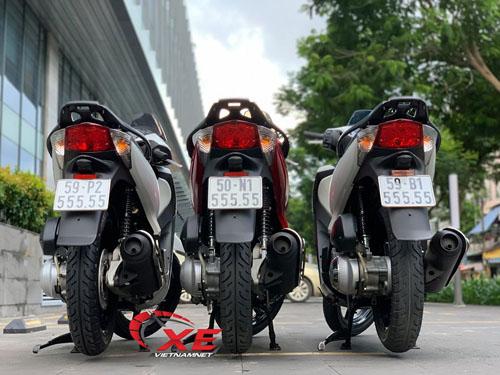Bộ ba Honda SH biển lục quý 5 giá 2 tỷ của dân chơi Sài Gòn - 1