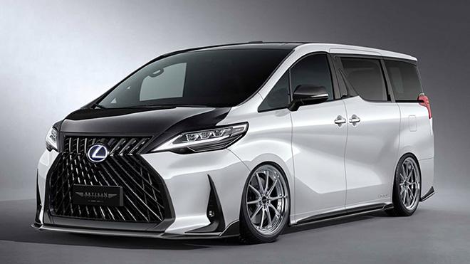 """Lộ diện bản độ """"street style"""" của Lexus LM dù chưa được bán ra thị trường - 1"""