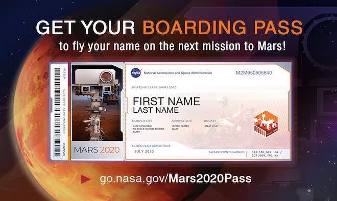 Nhanh tay đăng ký để trở thành 1 trong 1.000.000 cái tên xuất hiện trên Sao Hỏa - 1