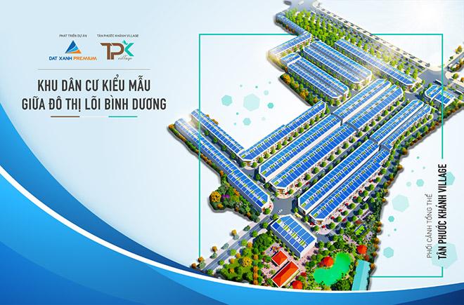 Đầu tư sinh lời, gia tăng lợi nhuận bền vững với dự án Tân Phước Khánh Village - 1