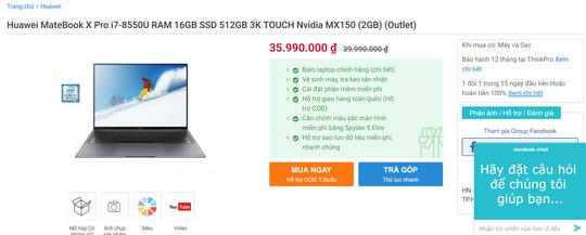 Đến lượt người dùng Windows lo lắng với laptop Huawei - 1