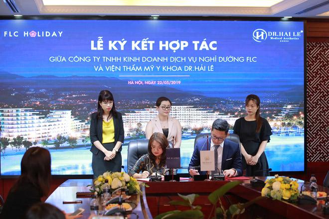 Dr. Hải Lê bắt tay FLC Holiday xây dựng hệ sinh thái du lịch thẩm mỹ - 1