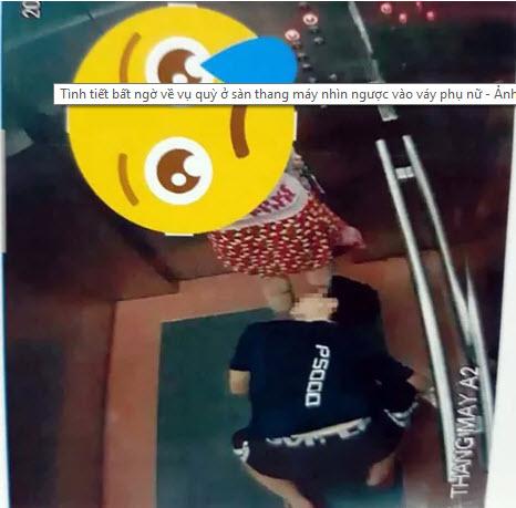 Tình tiết bất ngờ về vụ quỳ ở sàn thang máy nhìn ngược vào váy phụ nữ - 1