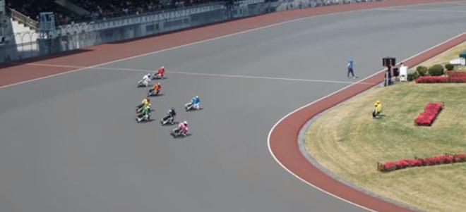 """Kỳ lạ cuộc đua xe không có thắng phanh, hết sức """"cân não"""" tại Nhật Bản - 1"""