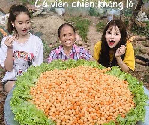 """Cận cảnh thiếu nữ xinh đẹp bị """"ném đá"""" trong Vlog Bà Tân - 1"""