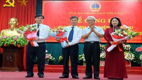 Nữ Thẩm phán xét xử vụ cựu tướng Phan Văn Vĩnh được bổ nhiệm Phó Chánh án - 1