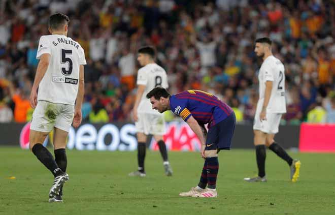 """Barca mất Cúp Nhà Vua: """"Ông trùm"""" Messi vẫn lập kỷ lục ghi bàn - 1"""