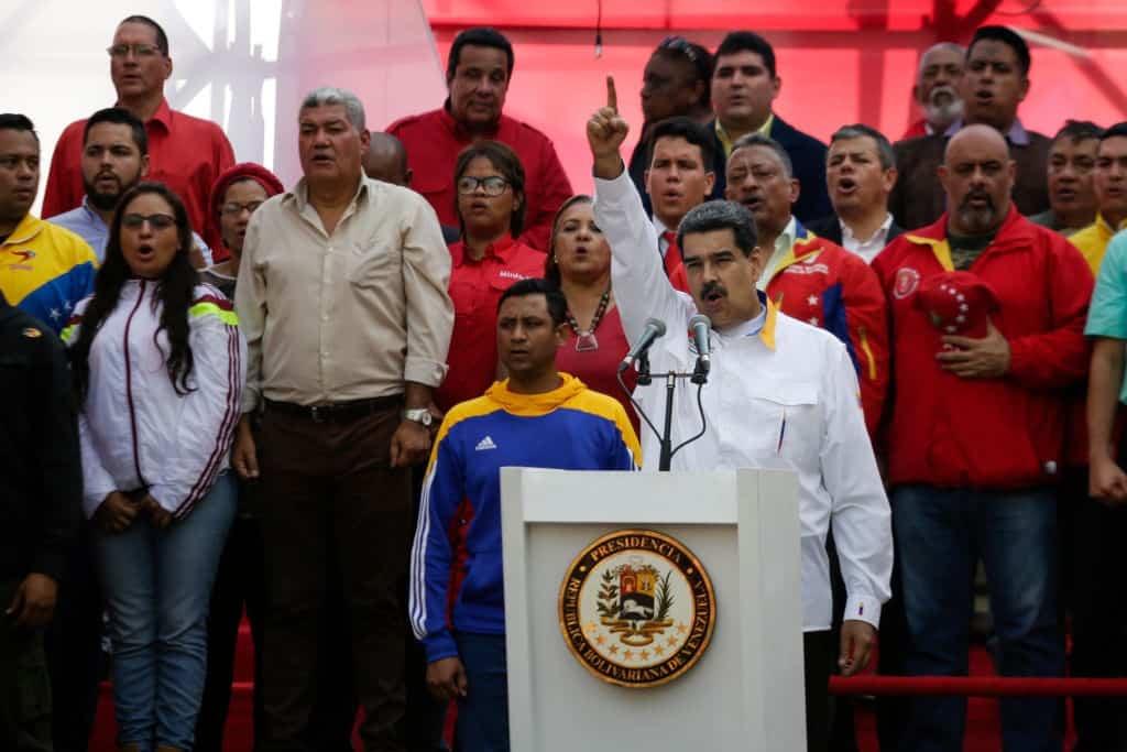 """Nga mang quân đội đến để giúp Venezuela """"sẵn sàng chiến đấu"""" trước mối đe dọa Mỹ - 1"""