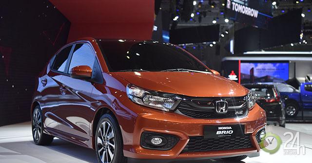 Honda Brio hoàn toàn mới ra mắt tại thị trường Việt Nam