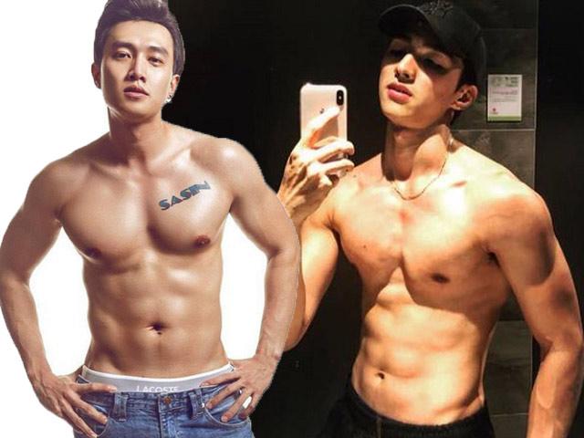 """Đọ body 6 múi của dàn diễn viên điển trai trong loạt phim """"gây bão"""" trên sóng VTV"""