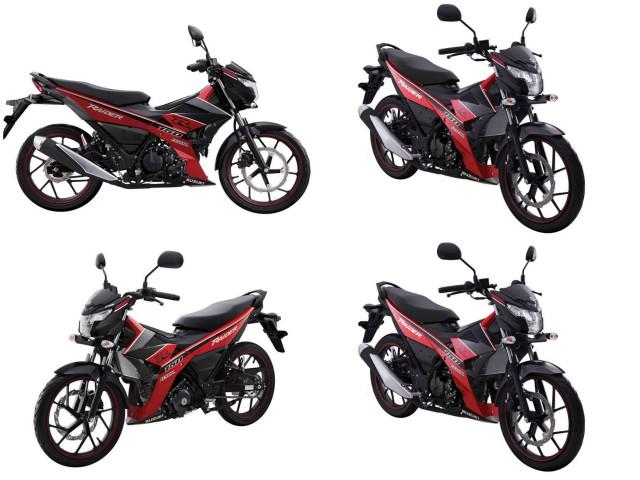 Suzuki Raider ra bản đặc biệt, so găng với Yamaha Exciter
