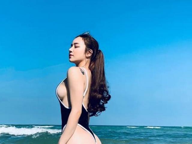 Mốt áo tắm 1 mảnh  khiến hàng loạt hot gymer Việt chao đảo