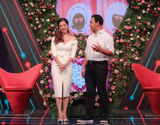 """Trần Nam Thư là người thay thế Cát Tường vào vai trò MC của chương trình ghép đôi nổi tiếng của """"Bạn muốn hẹn hò""""."""