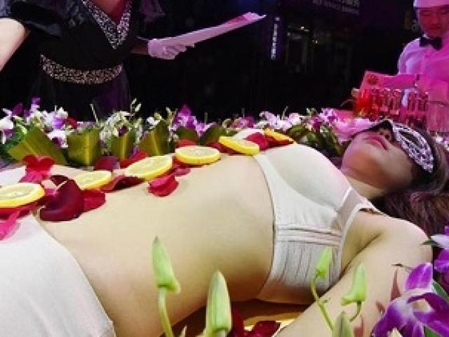 Người mẫu bàn tiệc sushi: Kiếm tiền núi nhưng bị dè bỉu, sống tủi hổ