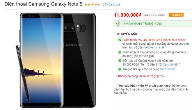 """HOT: Hàng loạt điện thoại Samsung đang giảm """"sốc"""" - 5"""