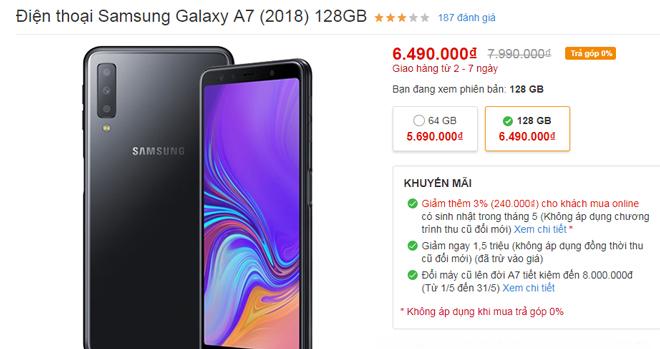 """HOT: Hàng loạt điện thoại Samsung đang giảm """"sốc"""" - 7"""